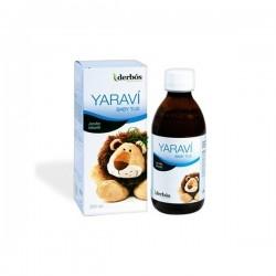 YARABI BABY TUS. Suplemento natural para niños, indicado para problemas del sistema respiratorio y reforzando el sistema inmune