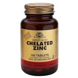 ZINC QUELADO. El zinc es un oligoelemento de gran importancia en el sistema inmune, y es componente de muchos sistemas enzimátic