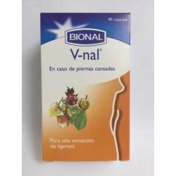 V-NAL EXTRA + VID ROJA.V-nal de Bional es un complemento dietético basado en plantas medicinales usadas tradicionalmente para me