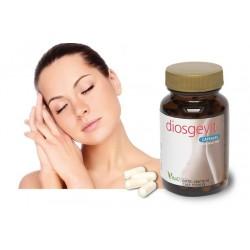 """DIOSGESVIT""""Progesterona natural"""", pues mantiene la fase secretora del endometrio. Recomendado en síndrome menstrual y menopausia"""