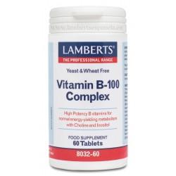 VITAMINA B-100 COMPLEX LAMBERTS
