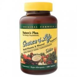 SOURCE OF LIFE. Complejo multivitamínico que se adapta a las distintas necesidades del organismo (astenia primaveral, fatiga, ép