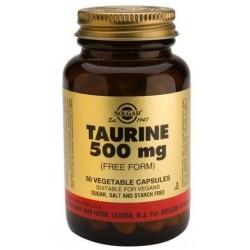 TAURINA 500MG SOLGAR