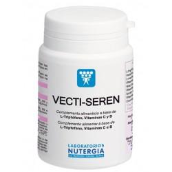 VECTI SEREN. Complemento alimenticio con L-triptófano, vitaminas C y B, cromo que contribuye al equilibrio emocional y a la rela